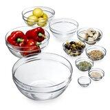 Luminarc Luminarc 10-Piece Assorted Stackable Glass Bowl Set