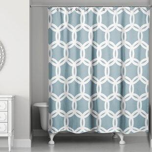Khoury Lattice Single Shower Curtain