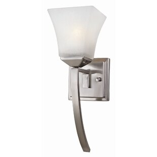 Find Bendigo 1-Light Wall Sconce By Ebern Designs
