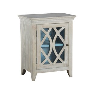 Agathe 1 Door Accent Cabinet