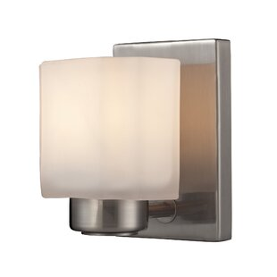 Au 1-Light Bath Sconce by Eber..