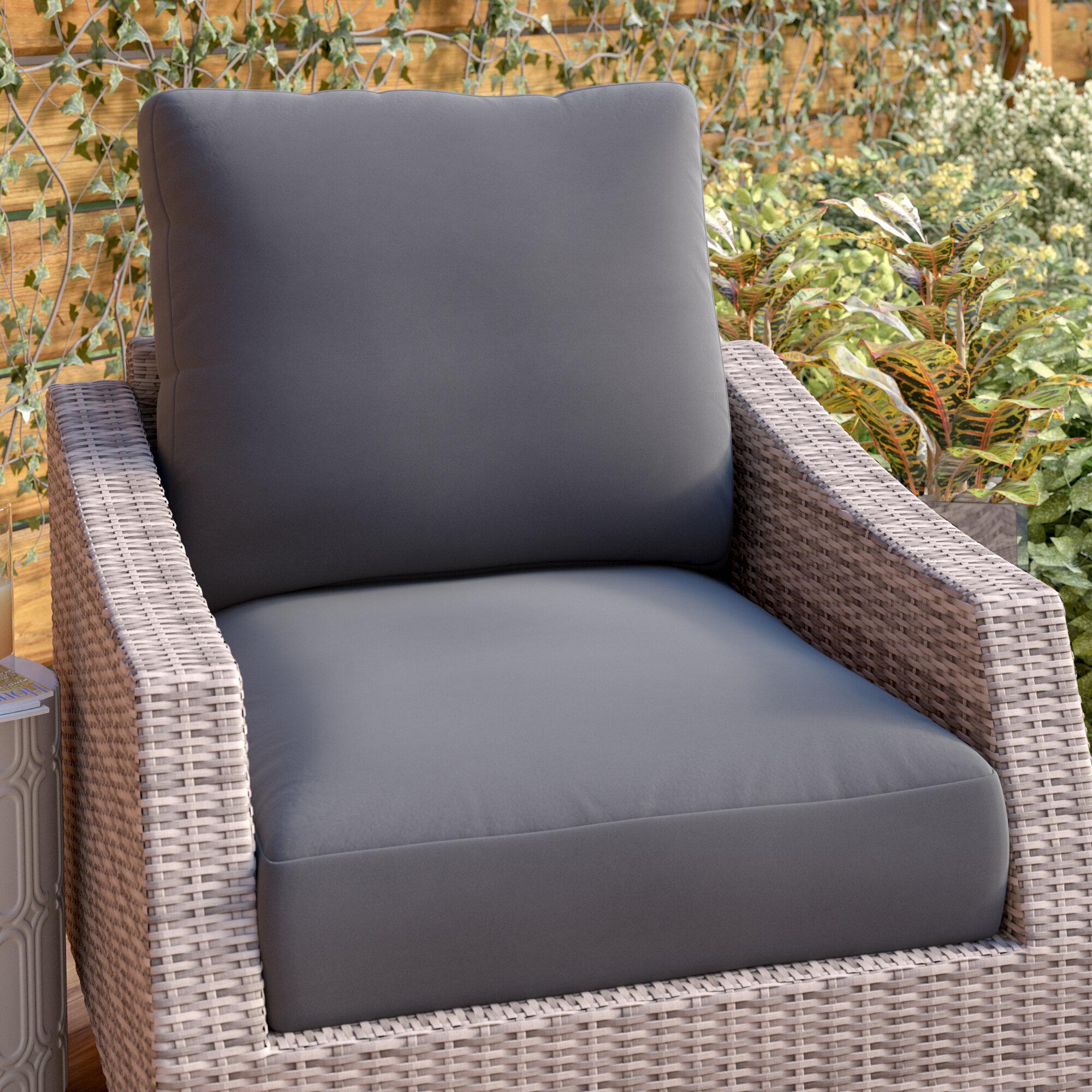 Zipcode Design Indoor Outdoor Lounge Chair Cushion Reviews Wayfair