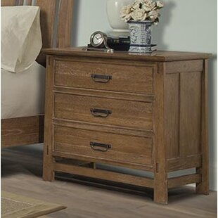 Huber 3 Drawer Nightstand