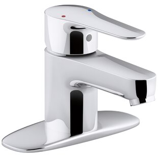 Kohler July Single-Handle Bathroom Sink Faucet with Escutcheon