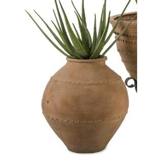 Mediterranean Fibreglass Cachepot By Bloomsbury Market