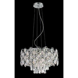 House of Hampton Monroe 9-Light Crystal Chandelier