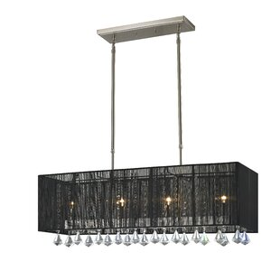 Laurine 4-Light Kitchen Island Pendant by Mercer41