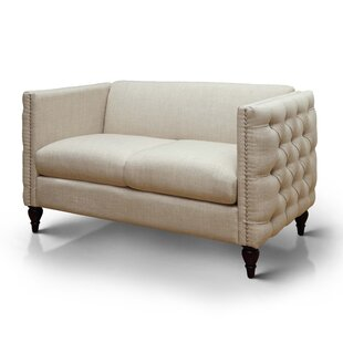 Soderville Chesterfield Loveseat by Alcott Hill