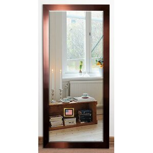 Rectangle Copper Beveled Wall Mirror
