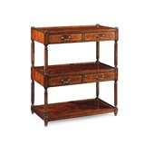 Buckingham Regency Three-Tier Etagere Bookcase by Jonathan Charles Fine Furniture