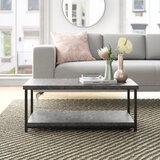Slate Faux Concrete Coffee Table by Foundstone™