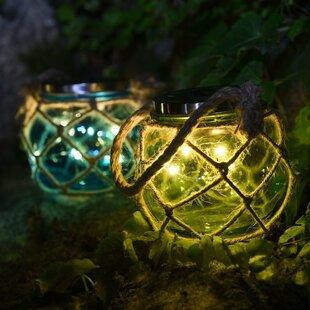 Solar Jar 2 Piece LED Landscape Lighting Set By Lightshare