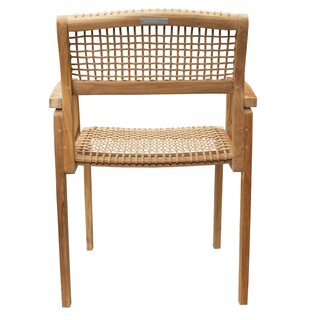 Alcala Solid Wood Dining Chair by Bungalow Rose SKU:EC441873 Order