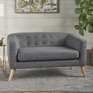 Pawlet Fabric Loveseat by George Oliver