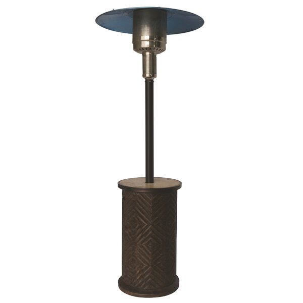 Bond Portofino Stainless Steel Propane Patio Heater | Wayfair