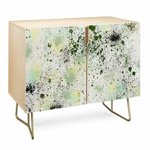 Ninola Ink Splatter Accent Cabinet by East Urban Home