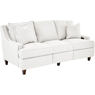 Affordable Price Tricia Power Hybrid Reclining Sofa by Wayfair Custom Upholstery™ Reviews (2019) & Buyer's Guide