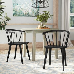 Brigg Solid Wood Dining Chair (Set of 2) by August Grove