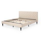 Atterbury King Upholstered Platform Bed by Red Barrel Studio®