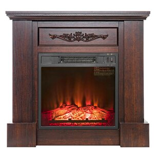 mission style fireplace mantel. Electric Mantel Heater Fireplace  Packages You ll Love Wayfair