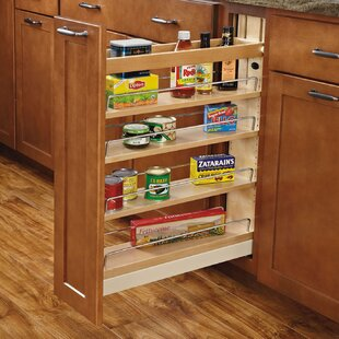 Ball-Bearing Soft-Close Base Cabinet Organizer