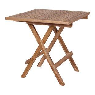 Laga Folding Wooden Side Table Image