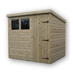8 Ft. W X 7 Ft. D Shiplap Pent Wooden Shed By WFX Utility