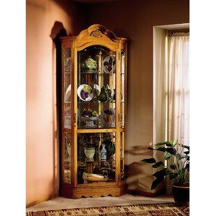 Darby Home Co Branscum Corner Curio Cabinet