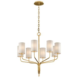 Obando 8-Light Shaded Chandelier