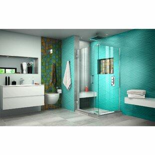 Unidoor Plus 30.5 x 72  Hinged Shower Enclosure by DreamLine