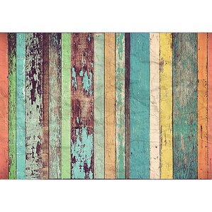 Wood Wall Mural wall murals you'll love | wayfair