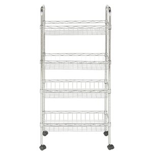 4-Tier Adjustable Storage Baker's Rack by Rebrilliant