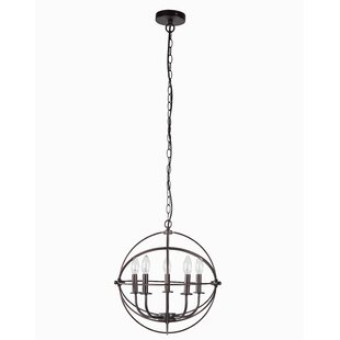 Williston Forge Kanisha 5-Light Lantern Chandelier