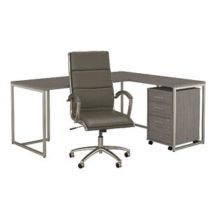 Method Desk, Filing Cabinet And Office Chair Set by Bush Business Furniture