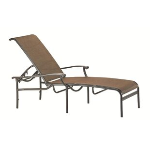 Sorrento Reclining Chaise Lounge by Tropitone