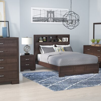 Voigt Platform 5 Piece Bedroom Set Brayden Studio Size: Queen