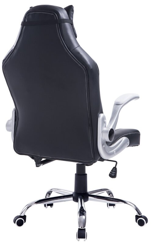 black classic office high blk modern chair back em