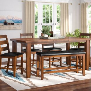 Bridlewood 9 Piece Dining Set by Loon Peak