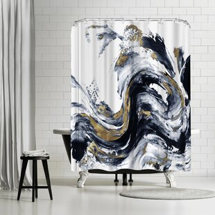 PI Creative Art Faded Memories I Single Shower Curtain