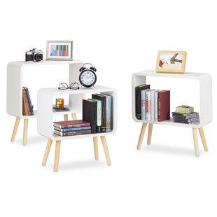 Hettie 3 Piece Bookcase Set By Mercury Row