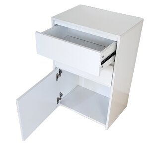 Henning 2 Drawer Bedside Table By 17 Stories