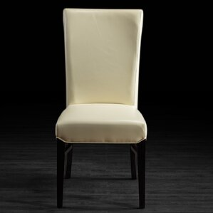 Bella Genuine Leather Upholstered Dining Chair by Artemano