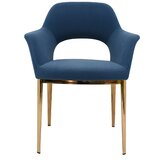 Gilson Upholstered Dining Chair by Everly Quinn
