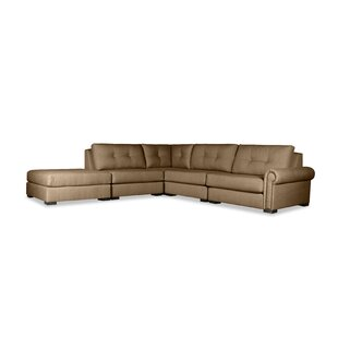 Willia Plush Deep Modular Sectional With Ottoman by Three Posts #1