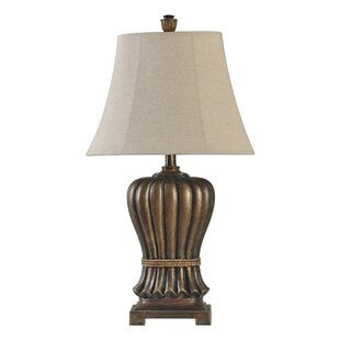 Ridings Fabric 28'' Table Lamp (Set of 2)