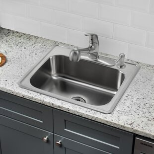 Single Tub Kitchen Sink Drop in kitchen sinks youll love wayfair save to idea board workwithnaturefo