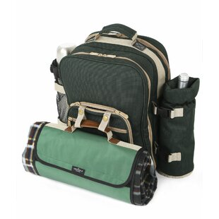 24 Piece Picnic Backpack Set