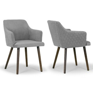 Albany Arm Chair (Set of 2) by Glamour Home Decor SKU:BA225269 Guide