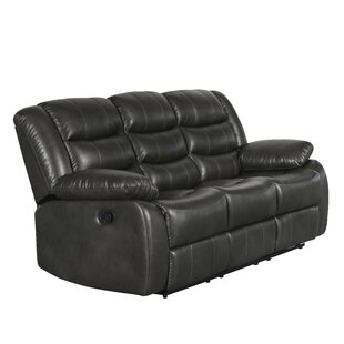 Rolston Reclining Sofa by Charlton Home