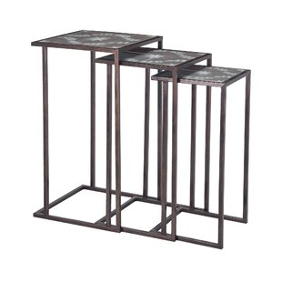 Detroit 3 Piece End Table Set by Fleur De Lis Living